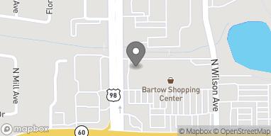 Mapa de 1030 North Broadway en Bartow