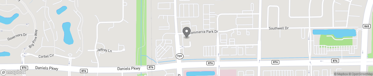 Map of 13391 Metro Parkway in Fort Myers