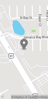 Map of 15245 S. Tamiami Trail in Fort Myers