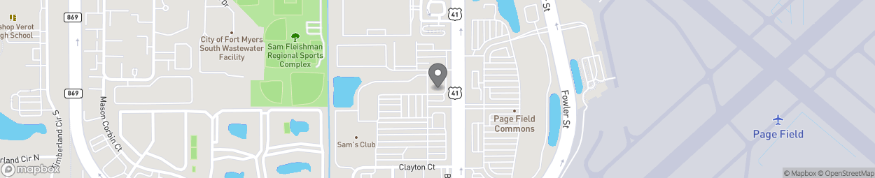 Map of 5050 S Cleveland Ave in Fort Myers