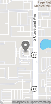 Map of 4928 S Cleveland Ave in Fort Myers