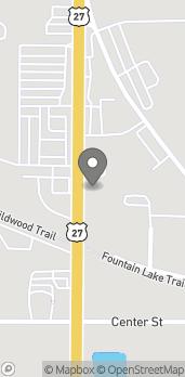 Map of 610 N 14th St in Leesburg