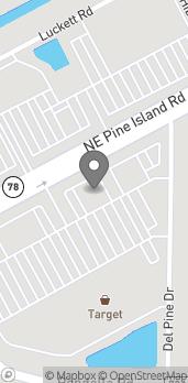 Mapa de 1860 Pine Island Rd NE en Cape Coral