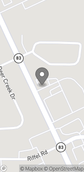 Map of 4389 Burbank Road in Wooster