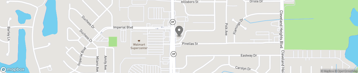 Map of 3440 S Florida Ave in Lakeland