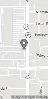 Mapa de 2803 S Florida Ave en Lakeland