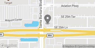 Map of 2529 Santa Barbara Blvd in Cape Coral