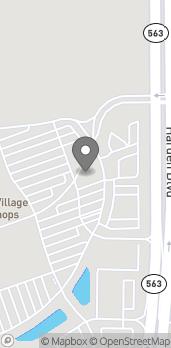 Mapa de 1384 Town Center Drive en Lakeland