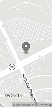 Mapa de 537 SW Pine Island Road en Cape Coral