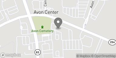 Mapa de 35925 Detroit Road en Avon