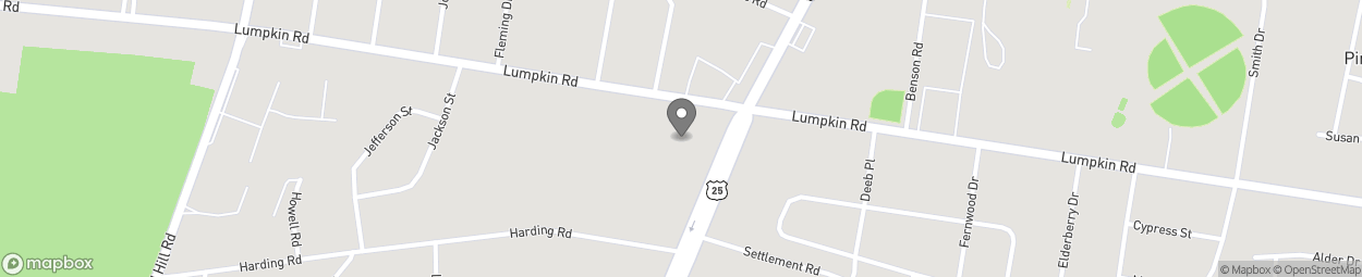 Map of 2112 Lumpkin Rd in Augusta