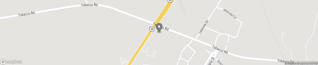 Map of 3602 Peach Orchard Road in Augusta