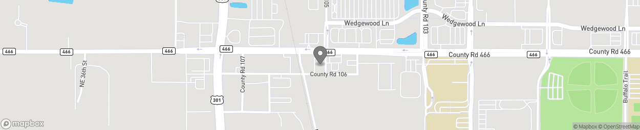 Map of 4243 E County Road 466 in Oxford