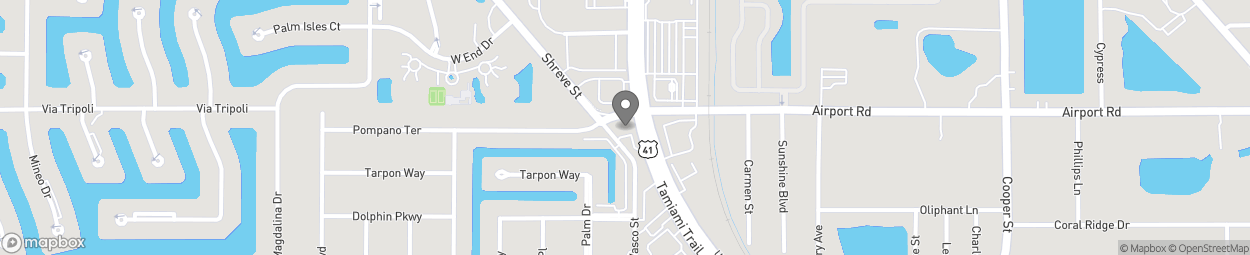 Map of 2445 Tamiami Trail in Punta Gorda