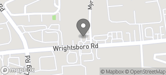 Map of 3223 Wrightsboro Road in Augusta