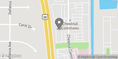 Mapa de 590 Chestnut Commons Drive en Elyria