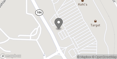Mapa de 4239 Washington Road en Evans