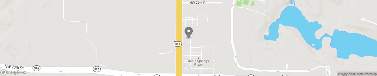 Map of 7301 N US Highway 441 in Ocala