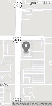 Map of 7886 Gall Blvd in Zephyrhills