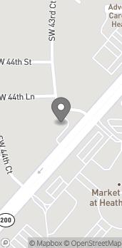Mapa de 4405 SW College Road en Ocala