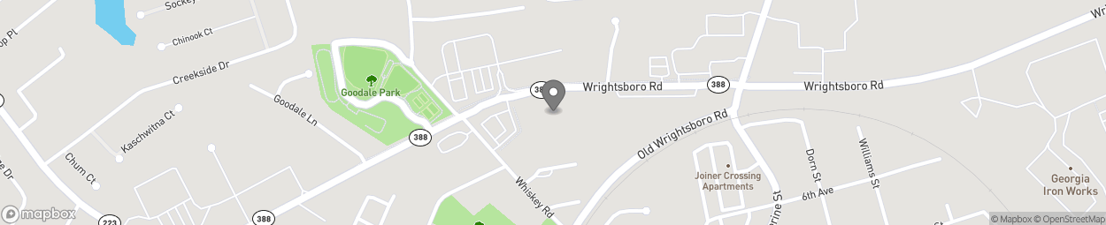Map of 5140 Wrightsboro Road in Grovetown