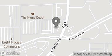 Mapa de 4310 Leavit Road en Lorain