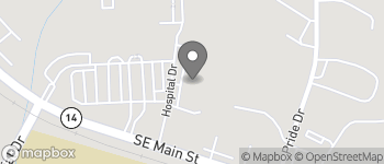 Map of 114 B Hospital Dr in Simpsonville