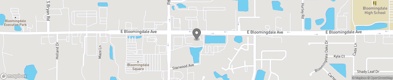 Map of 1029 Bloomingdale Avenue in Valrico