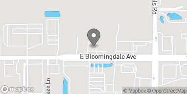 Map of 812 E Bloomingdale Ave in Brandon
