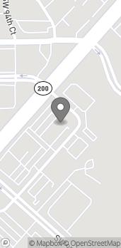 Mapa de 11100 SW 93rd Court Road en Ocala