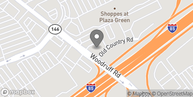 Map of 1121 Woodruff Rd in Greenville