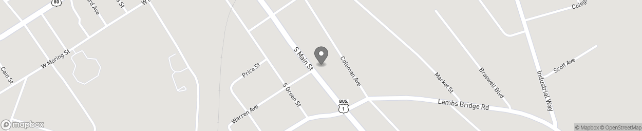 Map of 325 South Main St in Swainsboro
