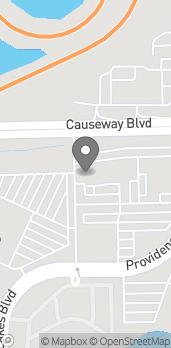 Map of 10945 Causeway Blvd in Brandon