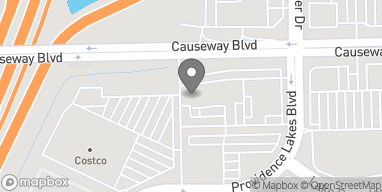 Map of 10945 Causeway Blvd in Brandon