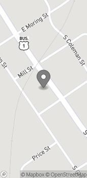 Mapa de 226 South Main Street en Swainsboro