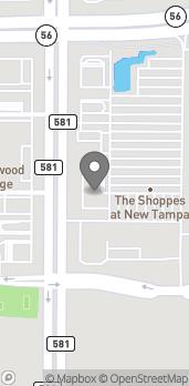 Mapa de 1770 Bruce B Downs Blvd en Wesley Chapel