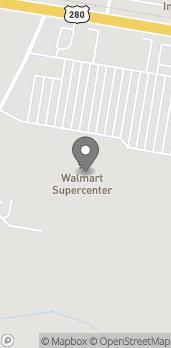 Mapa de 3123 E 1st Street en Vidalia