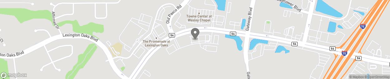 Map of 27270 Wesley Chapel Blvd in Wesley Chapel