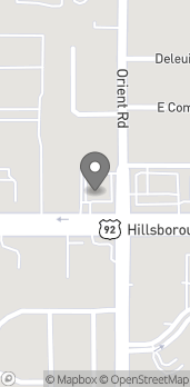 Mapa de 7216 Hillsborough Blvd en Tampa