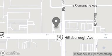 Map of 7216 Hillsborough Blvd in Tampa