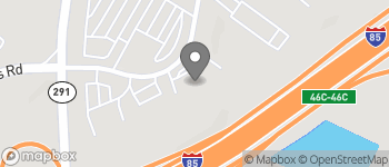 Map of 110 Chalmers Rd in Greenville