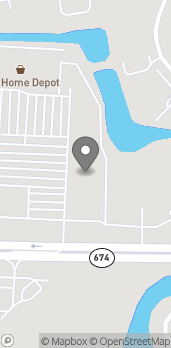 Map of 3846 Sun City Center Blvd in Ruskin