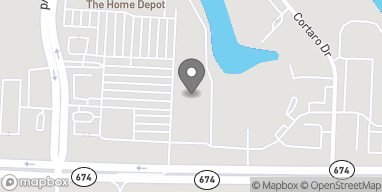 Mapa de 3846 Sun City Center Blvd en Ruskin