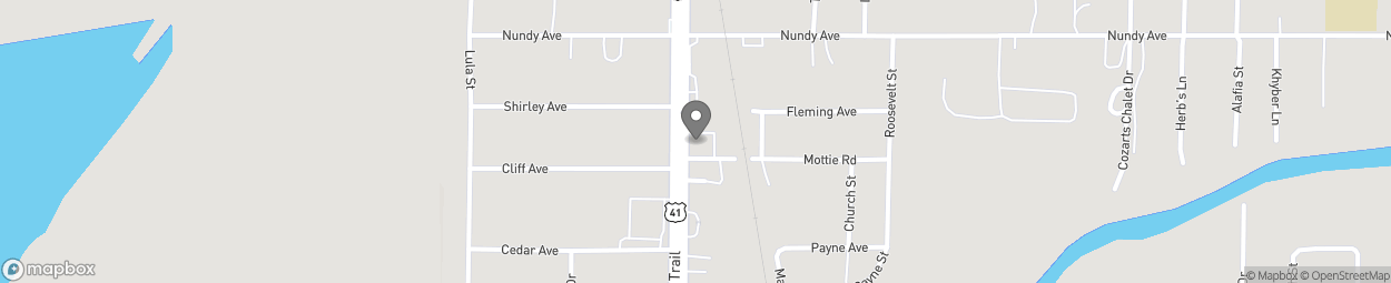 Map of 10824 S US Hwy 41 in Gibsonton