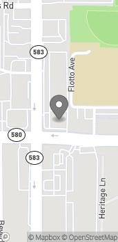 Map of 110 Bullard Parkway in Temple Terrace
