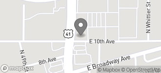 Map of 2301 North 50th Street N. in Tampa