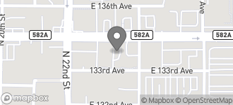 Map of 2219 East Fletcher Ave. in Tampa
