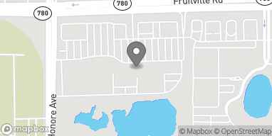 Map of 5398 Fruitville Road in Sarasota
