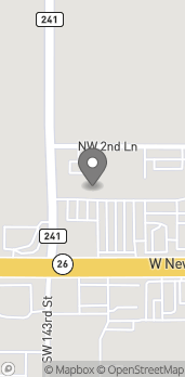 Map of 14206 W Newberry Rd in Newberry