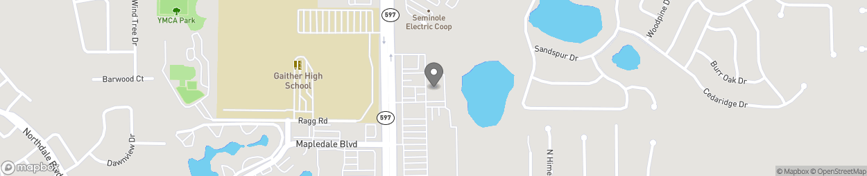 Map of 16209 N Dale Mabry Hwy in Tampa